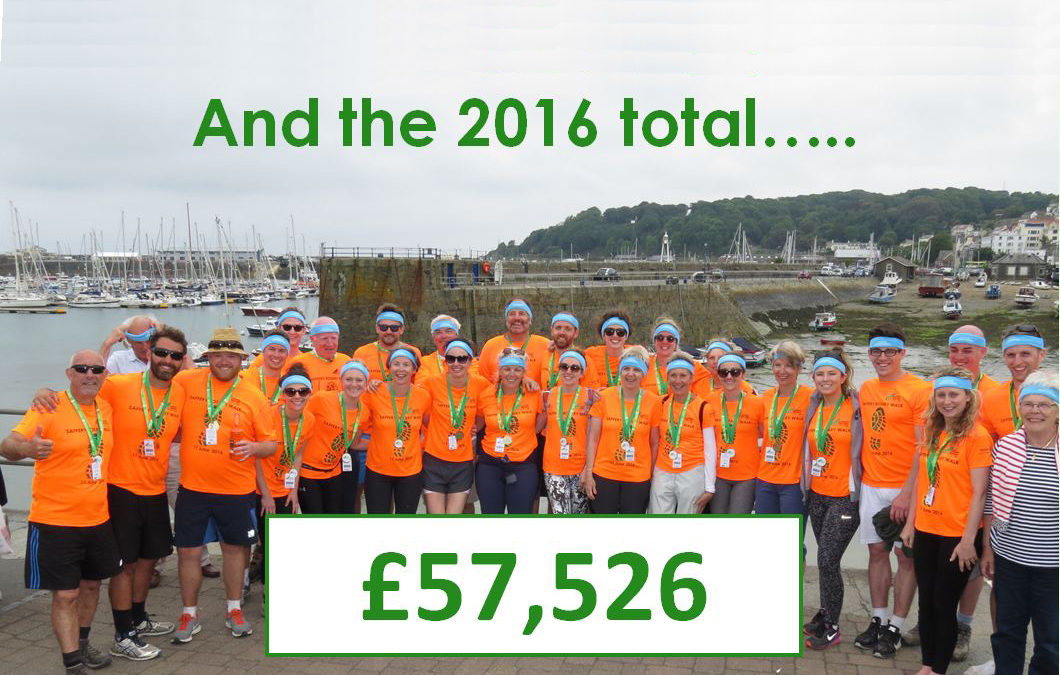 2016 walk raises £57,526 for 18 local charities