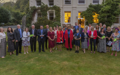 Record-breaking Saffery Rotary Walk is celebrated at Government House